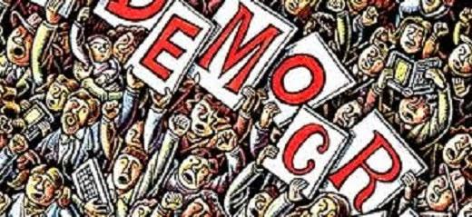 """Resultado de imagen de """"Lo llaman democracia y no lo es…"""""""